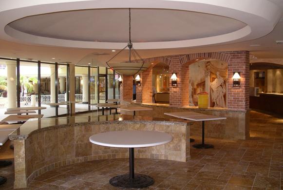 Realisatie Alfredo's Restaurant InterContinental San Juan