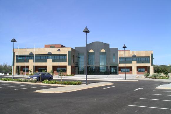 Nieuwbouw Aruba Bank Camacuri