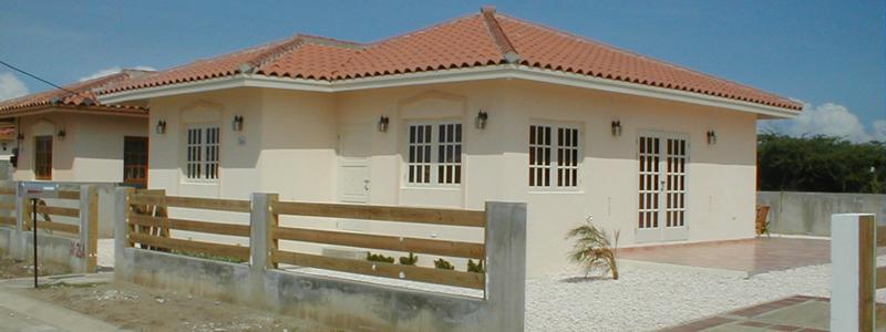 Nas woonhuis Aruba